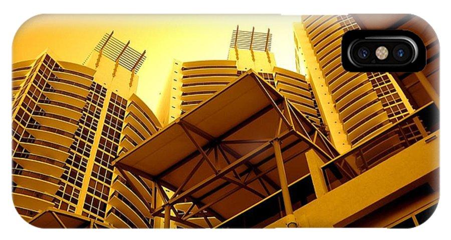 Murano Building Miami Print IPhone X Case featuring the photograph Murano Grande, Miami by Monique's Fine Art