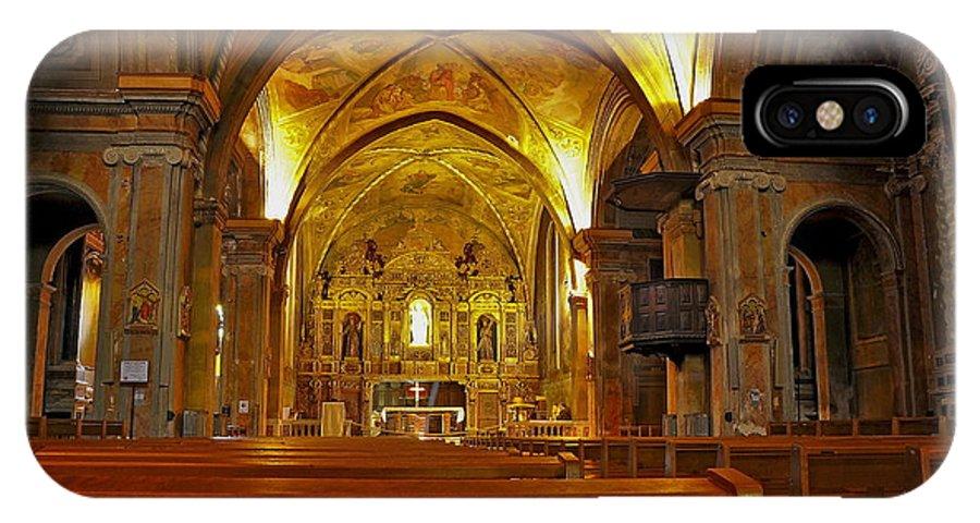 Nice IPhone X Case featuring the photograph Musee Franciscain Et Monastere De Cimiez by Alexey Antonov