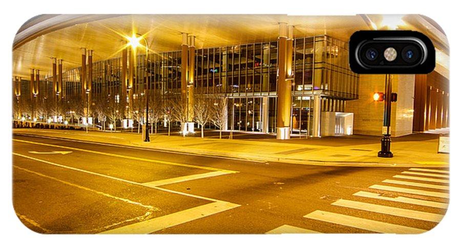 Music City Center IPhone X Case featuring the photograph Music City Center by Robert Hebert