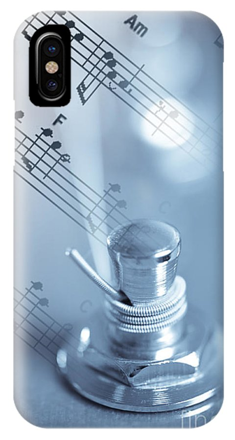 Bridge IPhone X Case featuring the photograph Musical Tune by Charles Dobbs