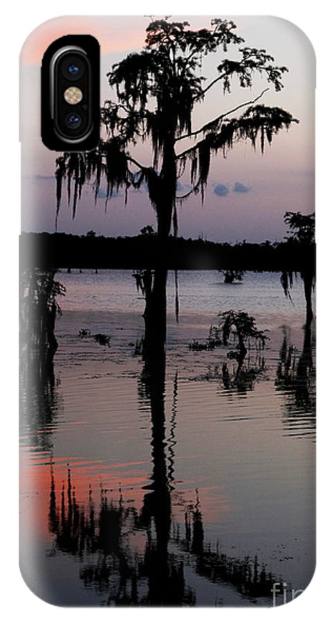 Sunset IPhone X Case featuring the photograph My Secret Evening by Luana K Perez