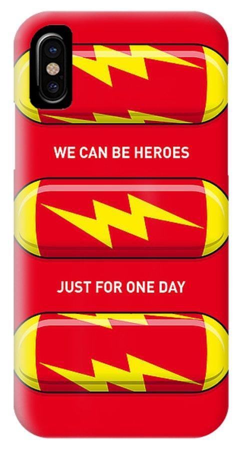 My Superhero Pills The Flash Iphone X Case