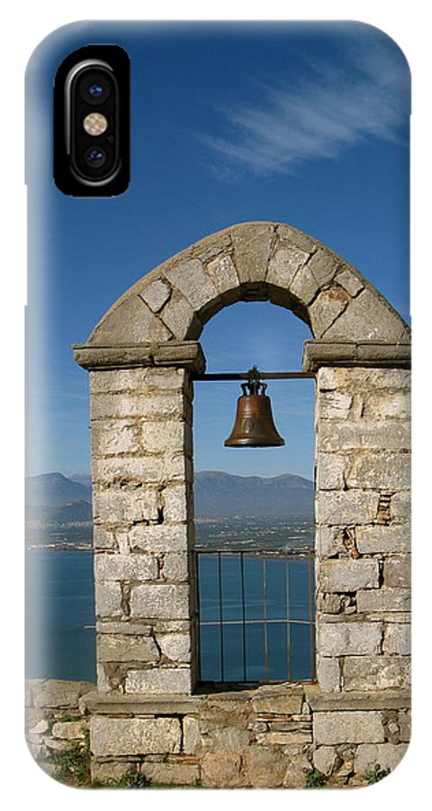 Nafplion IPhone X Case featuring the photograph Nafplion Bell by Daniel Taylor