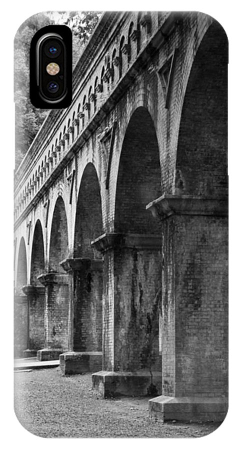 Japan IPhone X Case featuring the photograph Nanzenin Temple Aqueduct by Zina Zinchik