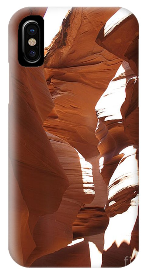 Canyon IPhone X Case featuring the photograph Narrow Canyon II by Christiane Schulze Art And Photography