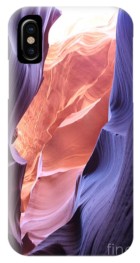 Canyon IPhone X Case featuring the photograph Narrow Canyon Xii by Christiane Schulze Art And Photography
