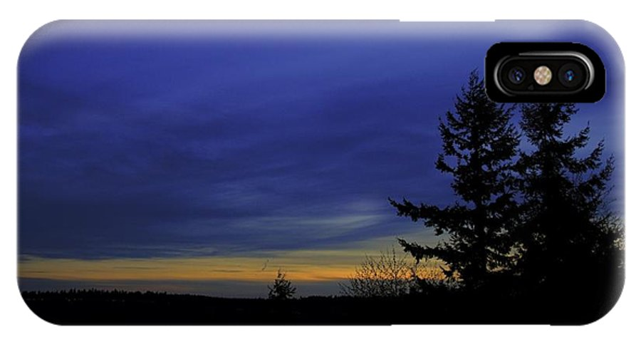 Sunset IPhone X Case featuring the photograph Narrows Sunset by Jason Abington