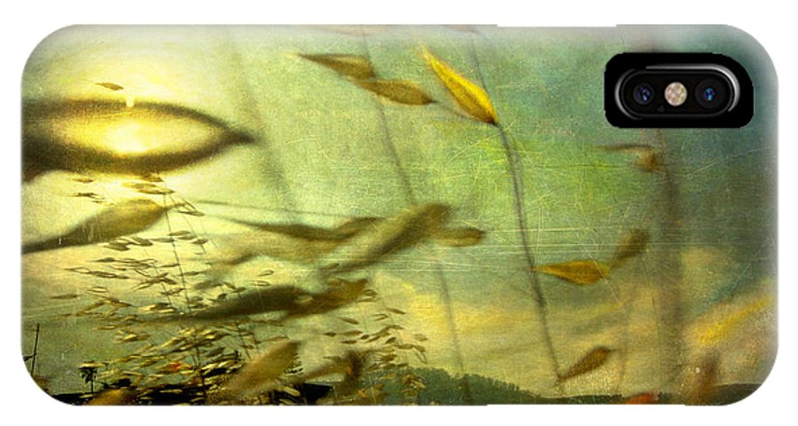 Digital IPhone X Case featuring the photograph Nature #12. Strong Wind by Alfredo Gonzalez