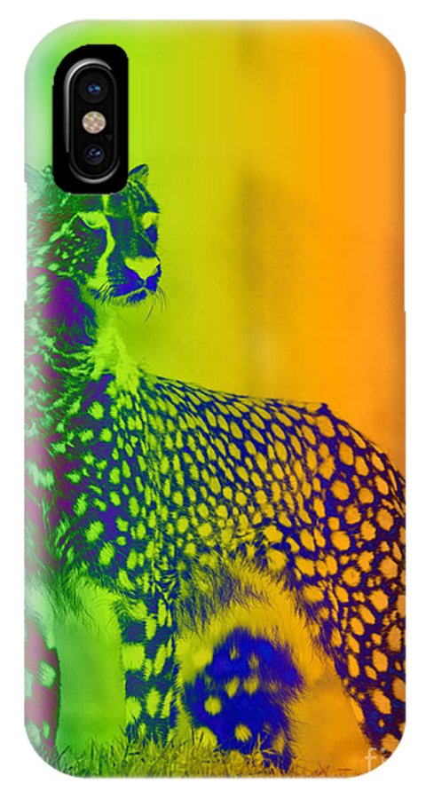 Art IPhone X / XS Case featuring the digital art Nature by One Ironaut