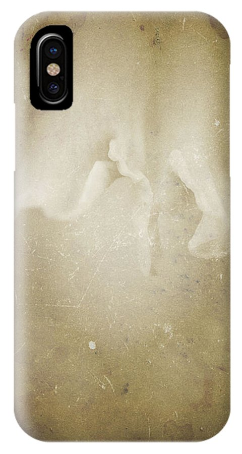 Flowers IPhone X Case featuring the photograph Nature's Sensual Form by Timothy Bischoff