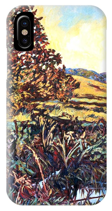 Landscape IPhone Case featuring the painting Near Childress by Kendall Kessler
