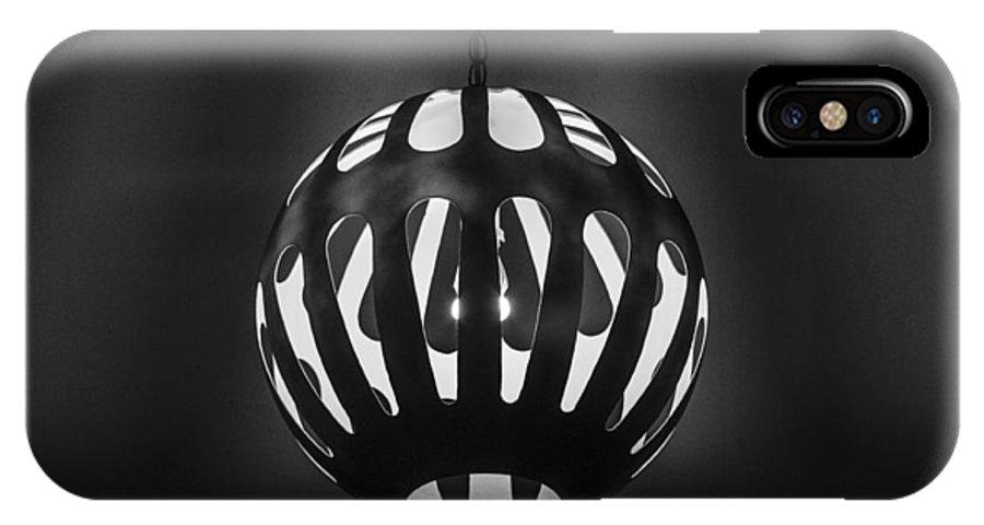 Las Vegas IPhone X Case featuring the photograph Neon Boneyard Light by Angus Hooper Iii