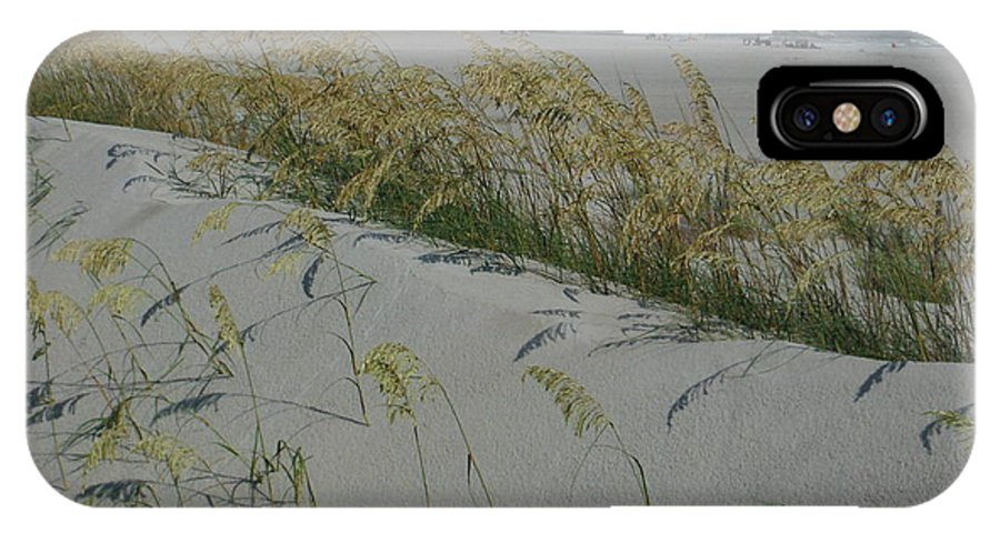 Shadows On Dunes IPhone X Case featuring the photograph New Dunes On The Atlantic by Paddy Shaffer