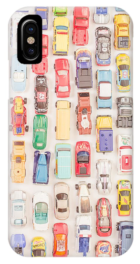 Hot Wheels IPhone X Case featuring the photograph New Jersey Traffic Jam by Edward Fielding