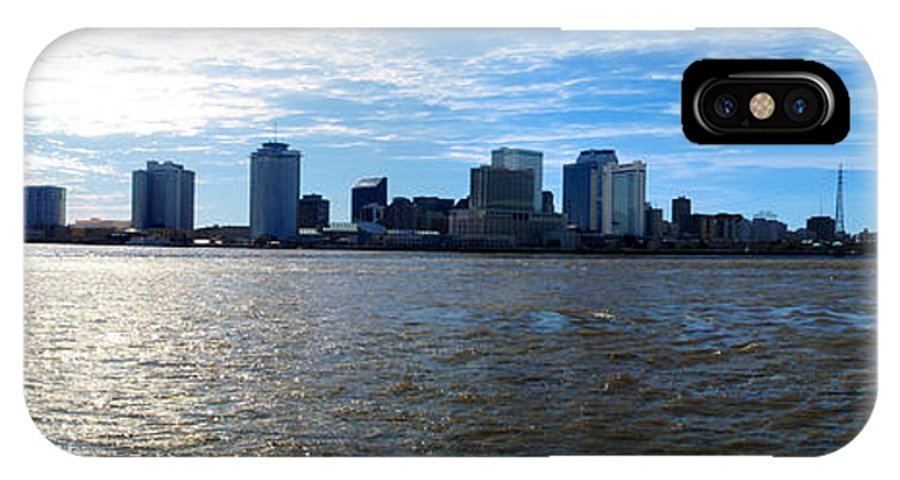 Jackson Square IPhone X Case featuring the photograph New Orleans - Skyline Of New Orleans by Randy Smith