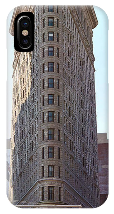 The Flat Iron Building IPhone X Case featuring the photograph New York - The Flat Iron Building by Randy Smith