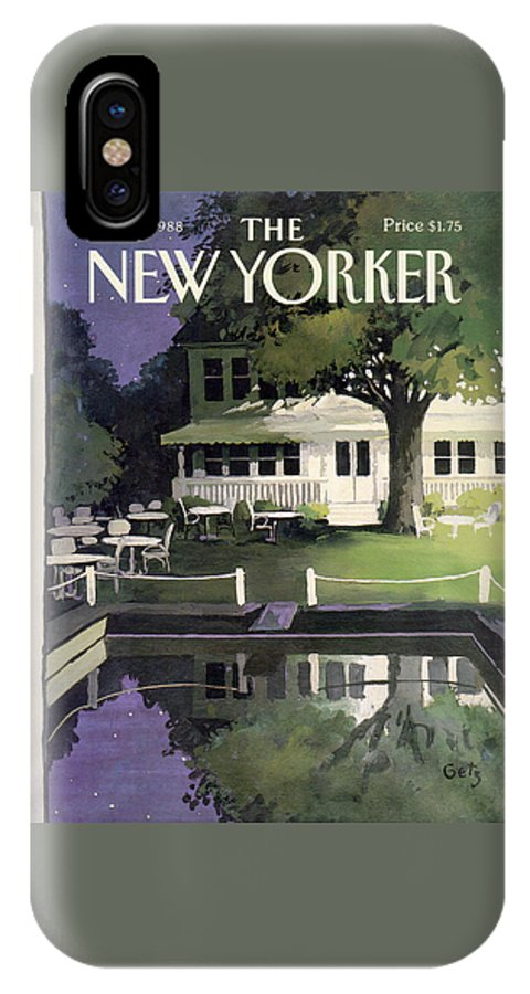New Yorker August 29th, 1988 IPhone X Case