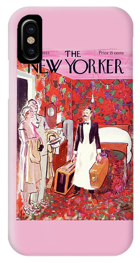 New Yorker July 15th, 1933 IPhone X Case