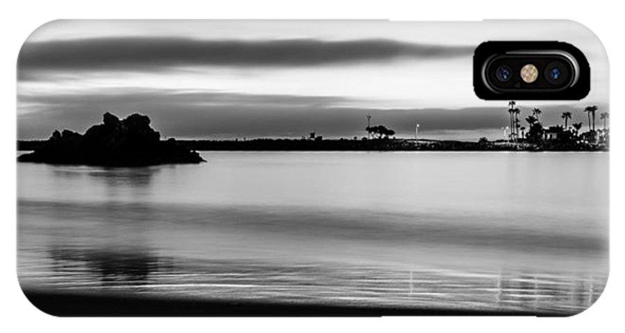 Santa Monica IPhone X Case featuring the photograph Newport 12 by Alan Nix