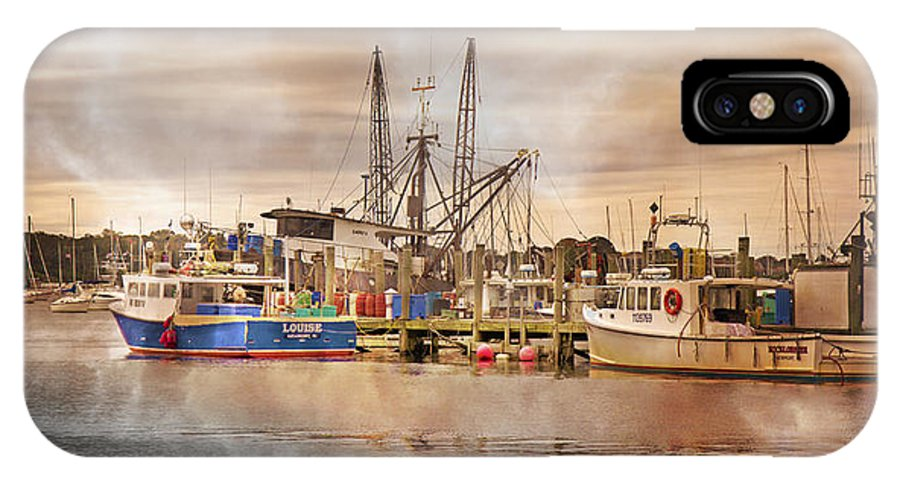 Harbor IPhone X Case featuring the photograph Newport Rhode Island Harbor II by Betsy Knapp