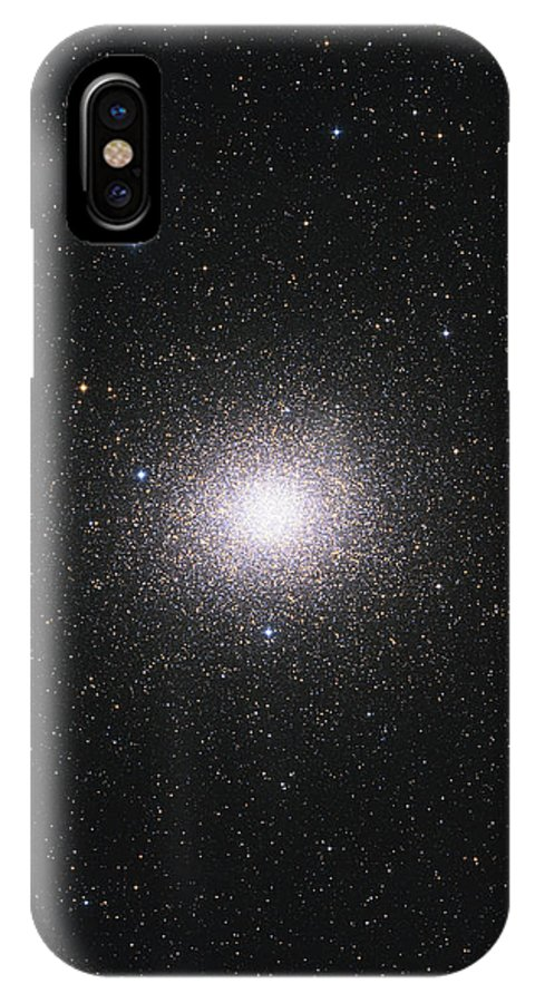 Vertical IPhone X Case featuring the photograph Ngc 5139, Omega Centauri Globular by Lorand Fenyes