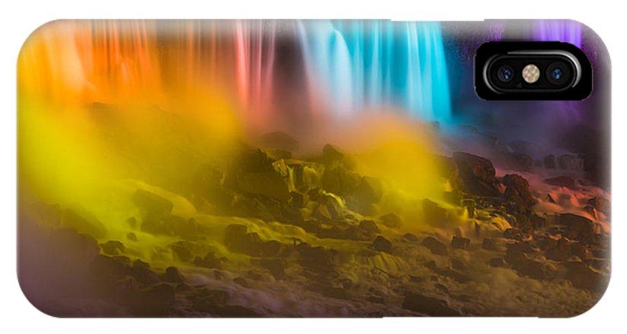 Niagara Falls IPhone X Case featuring the photograph Niagara Falls 10 by Tom Uhlenberg