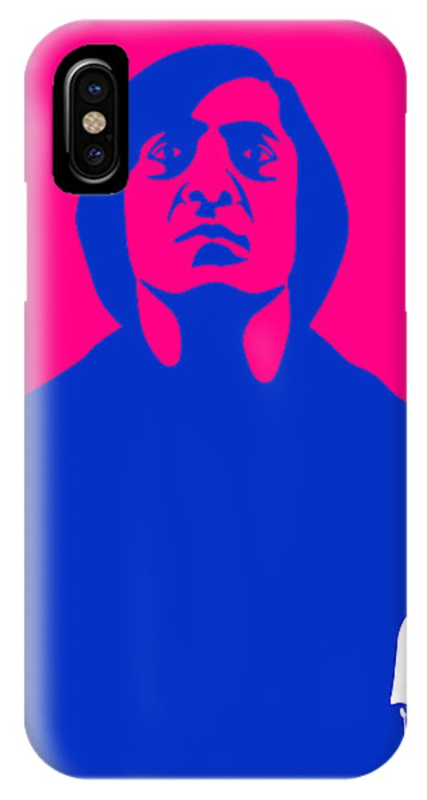 No Country For Old Man IPhone X Case featuring the painting No Old Man Poster 4 by Naxart Studio