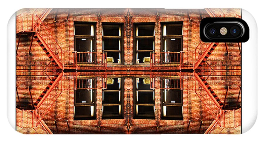 Apartments IPhone X Case featuring the photograph No Way Out by Don Powers