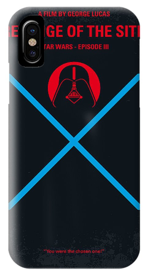 No225 My Star Wars Episode Iii Revenge Of The Sith Minimal Movie Poster Iphone X Case For Sale By Chungkong Art
