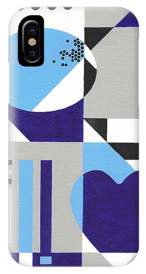 Heart IPhone X Case featuring the painting Nonpareil by Lance Bifoss