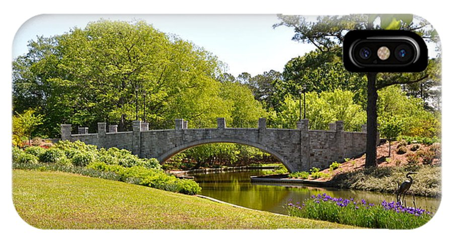 Botanical Gardens Norfolk IPhone X / XS Case featuring the photograph Norfolk Botanical Gardens In Color by MCM Photography