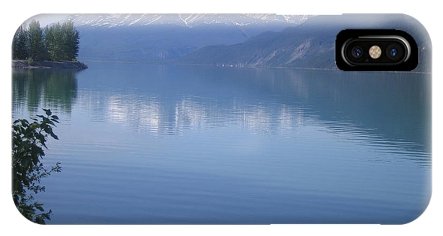 Muncho Lake IPhone X Case featuring the photograph Northern British Columbia by Betty-Anne McDonald
