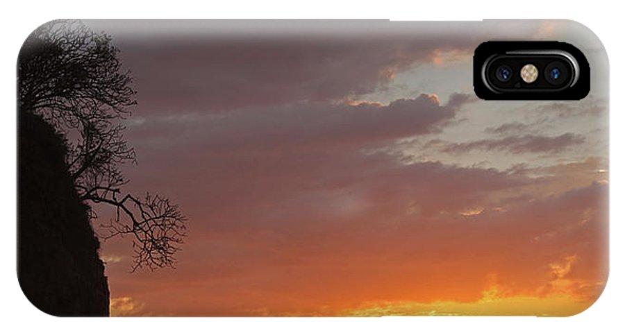 Nosara IPhone X Case featuring the photograph Nosara Playa Pelada Costa Rica Sunsets by Joseph Semary