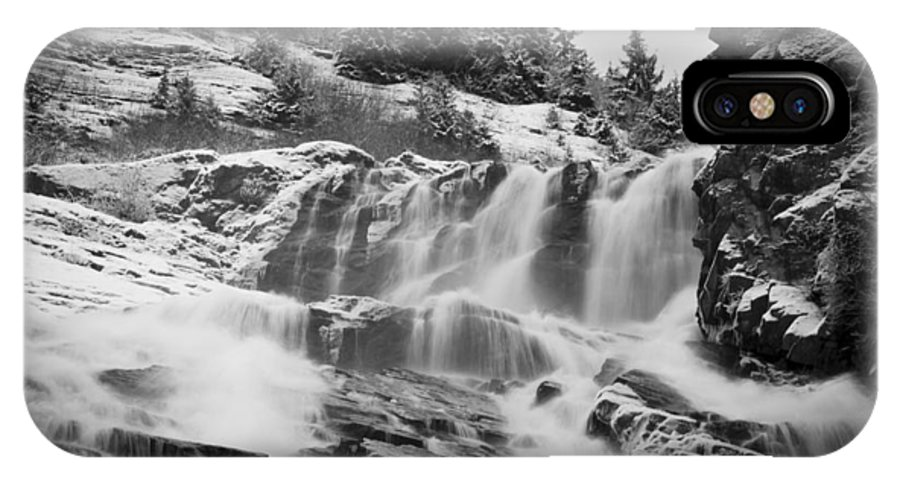 Nugget Falls IPhone X Case featuring the photograph Nugget Falls by Kent Kay