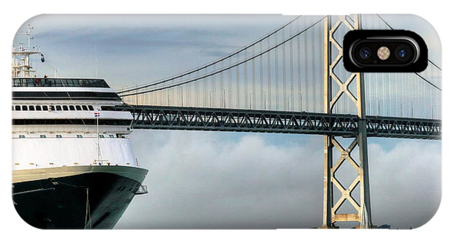 Oakland IPhone X Case featuring the photograph Oakland Bay Bridge by Tap On Photo