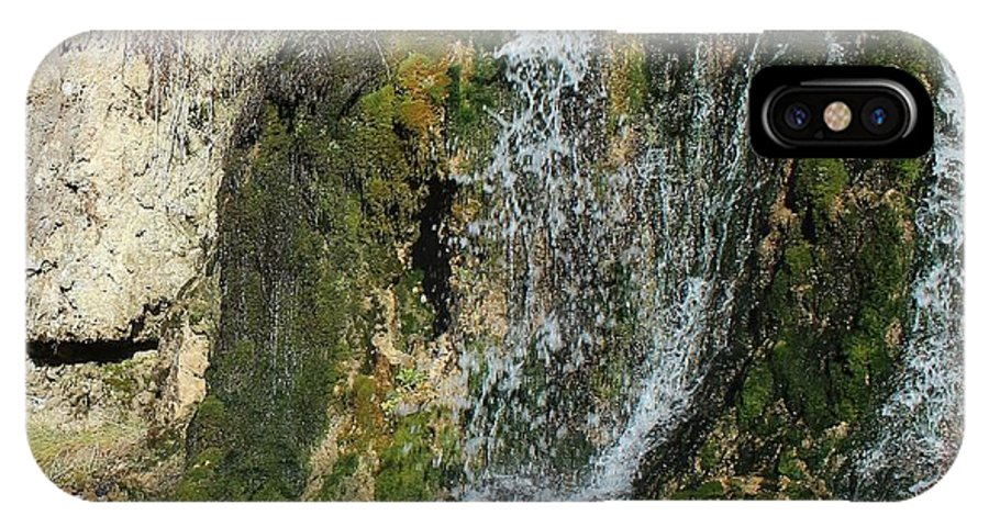 Nimrod Hot Springs IPhone X Case featuring the photograph Oasis by Mark Eisenbeil