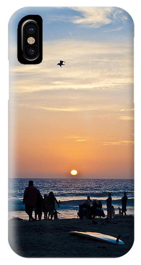 Ocean IPhone X Case featuring the photograph Ocean Beach by Jeffrey Woodley