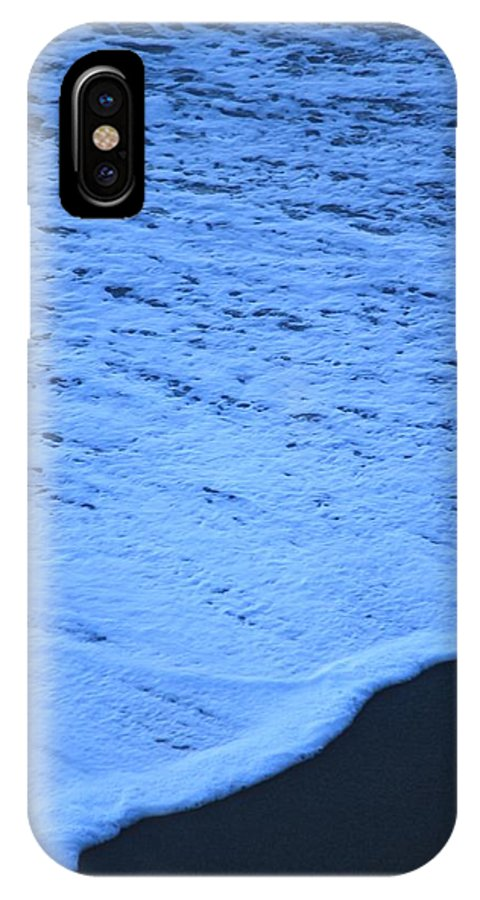 Ocean Blues IPhone X Case featuring the photograph Ocean Blues by Amy Gallagher