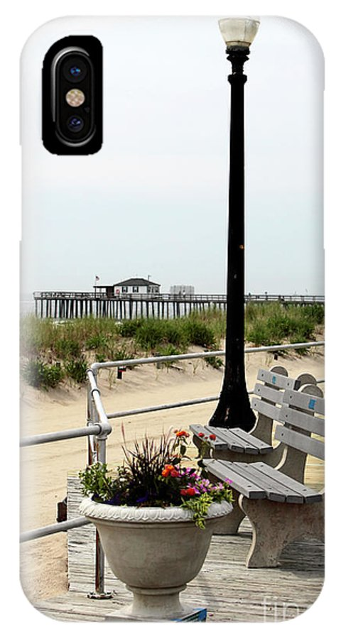 Ocean Grove Colors IPhone X Case featuring the photograph Ocean Grove Colors by John Rizzuto