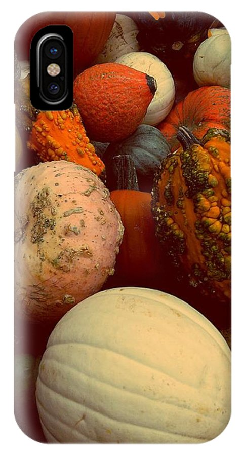 Halloween IPhone X Case featuring the photograph October by Denisse Del Mar Guevara