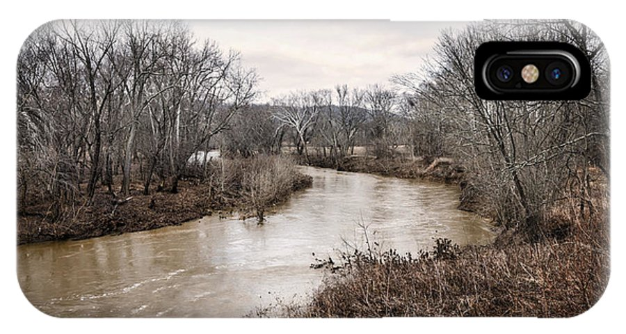 Adams IPhone X Case featuring the photograph Ohio Brush Creek by Diana Boyd