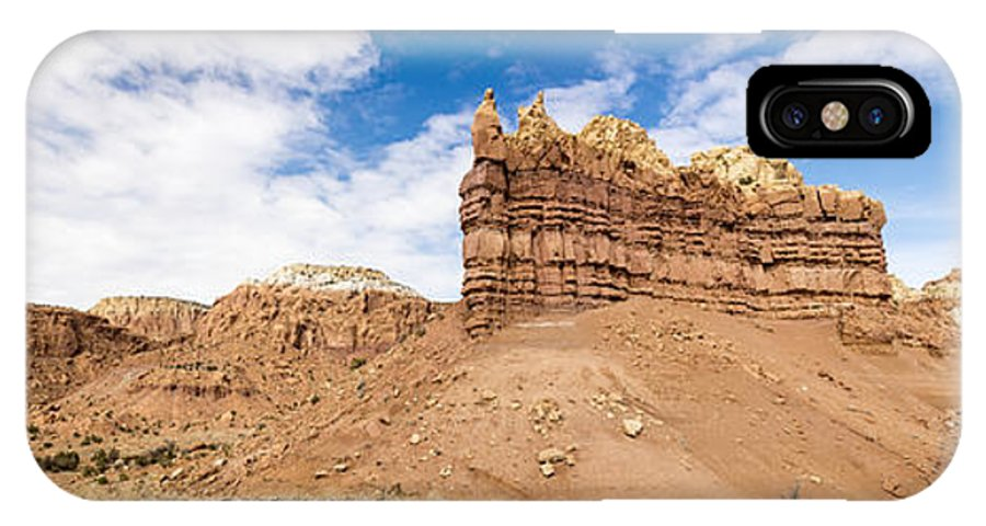 Ojitos De Los Gatos Northern New Mexico Nm IPhone X Case featuring the photograph Ojitos De Los Gatos Panorama - New Mexico by Brian Harig