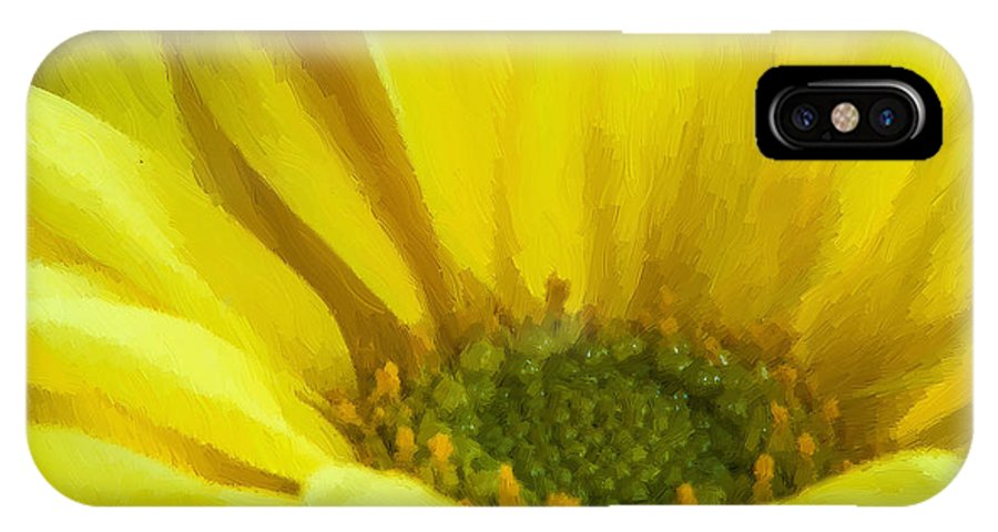 Yellow IPhone X Case featuring the photograph Ol' Yeller by Randy Walton