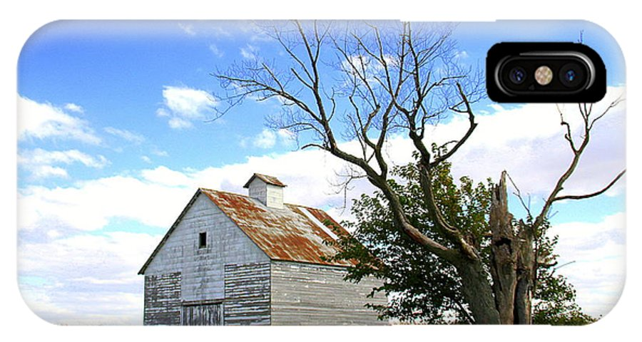 Barn IPhone X Case featuring the photograph Old Barn by Blake Roberts