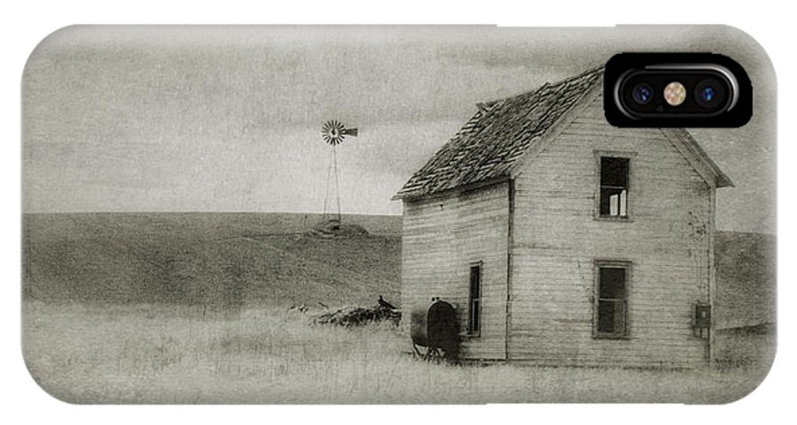 Farm IPhone X / XS Case featuring the photograph Old Farmstead by Jan Eklof
