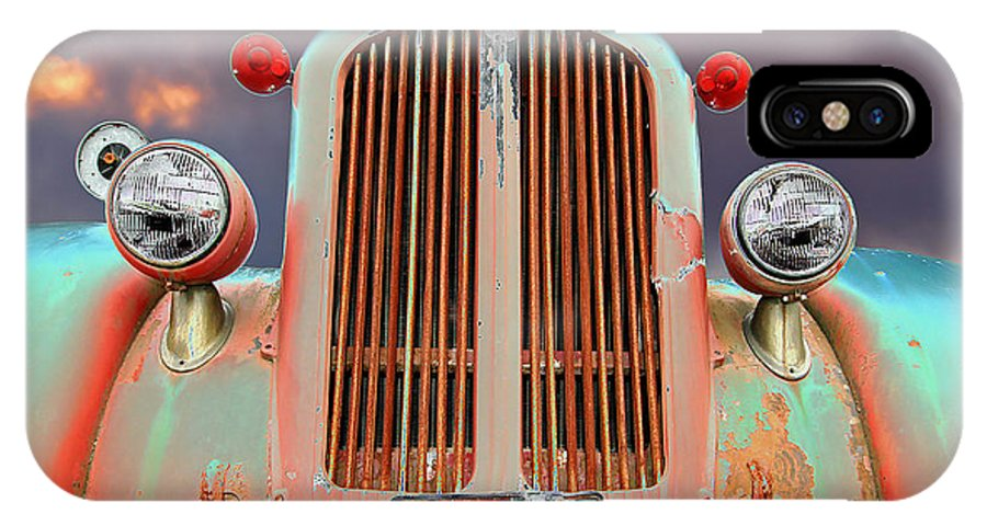 Truck IPhone Case featuring the photograph Old Firefighter by Ron Day