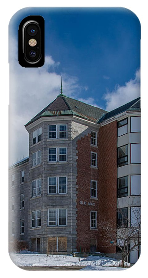 Amhi IPhone X Case featuring the photograph Old Max 7k00309 by Guy Whiteley