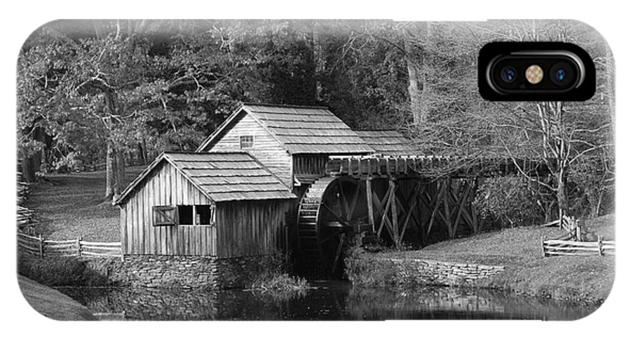 Virginia IPhone X Case featuring the photograph Virginia's Old Mill by Eric Liller
