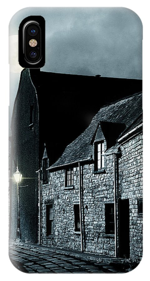 Street IPhone X Case featuring the photograph Old Street In England by Ethiriel Photography