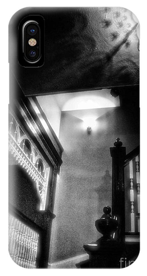 Black And White IPhone X Case featuring the photograph Oldie But Goodie by Robert McCubbin